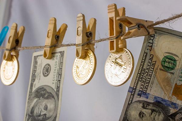 биткоин отмывание денег