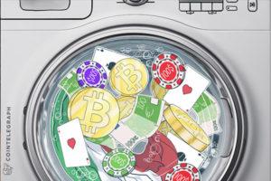 отмывание биткоин казино