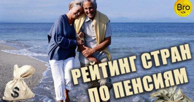 Рейтинг стран по пенсиям